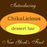 Eating at Chikalicious NYC