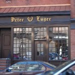 Eating at Peter Luger NYC