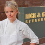 Eating at Nick and Stef's Steakhouse LA