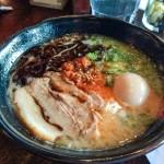 Eating at Tatsu Ramen LA
