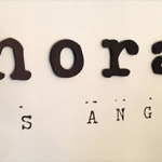 Eating at Phorage LA